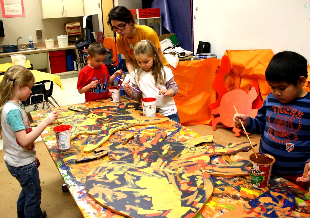 Arts Integration & Collaborative Decision-Making, ages 5 - 8