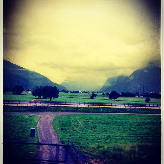 On the train from #Zurich to #Salzburg!! So excited to see #Austria