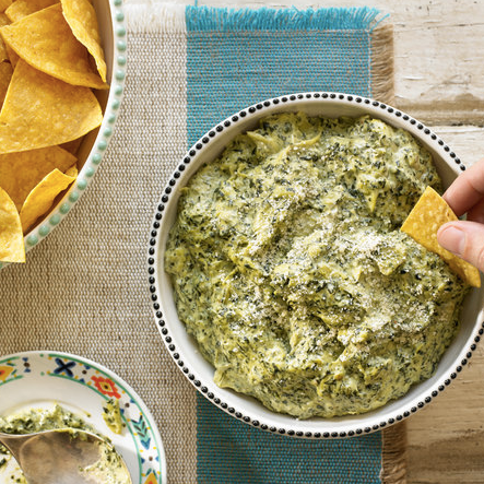 Spinach artichoke dip - NEW YORK TIMES