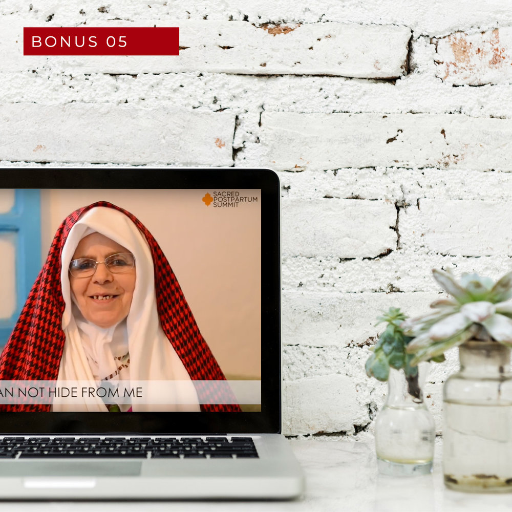 Sacred Postpartum Summit access pass - Get free immediate access to the 2018 online Sacred Postpartum Summit with over 20 video interviews and lessons.(Value £1,997)