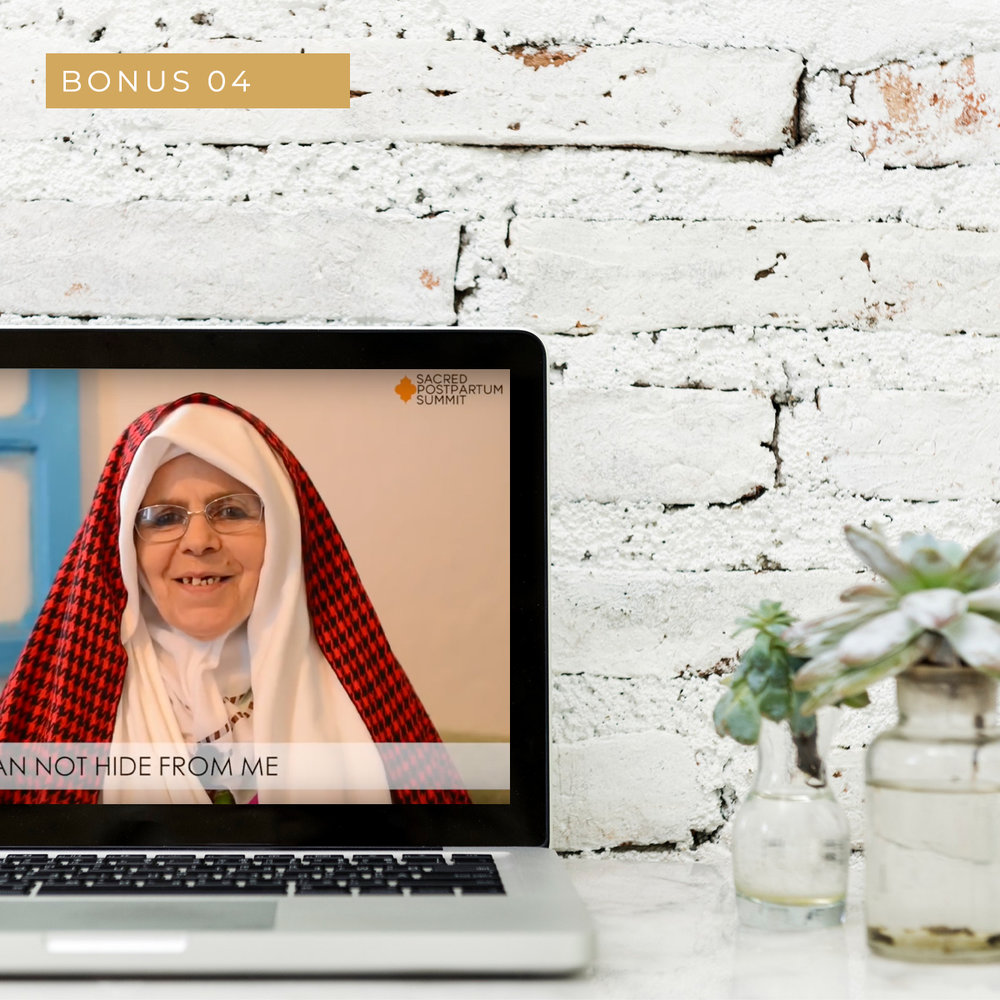 Qablas take on nourish her - A beautiful short pre-recorded video of traditional Qablas giving their thoughts on nourishing the new mother.(Value £197)