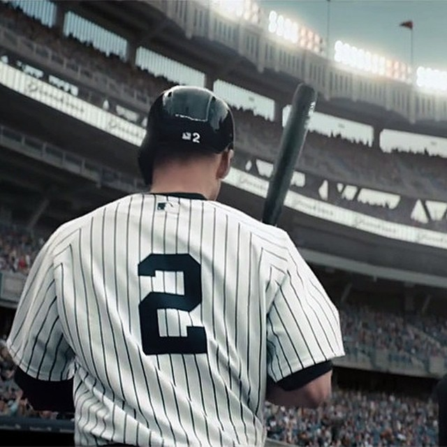 Thank you, Derek. #re2pect #jeter