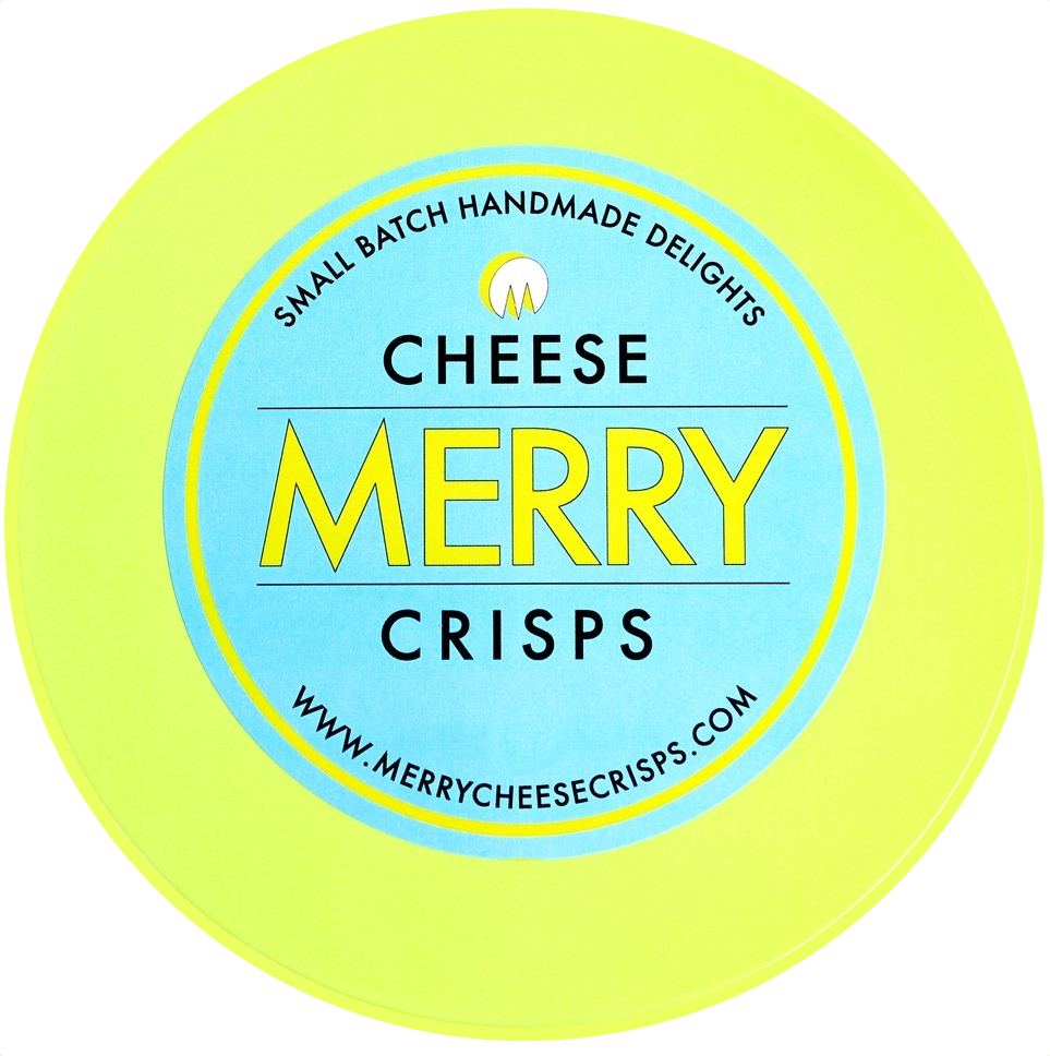Merry Cheese Crisps