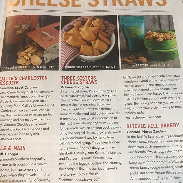 Thanks so much!! We think they're worth a try too! @cookingwithpauladeen #cheesestraws #holidaygifts #holidayentertaining #southern #smallbatch #birmingham