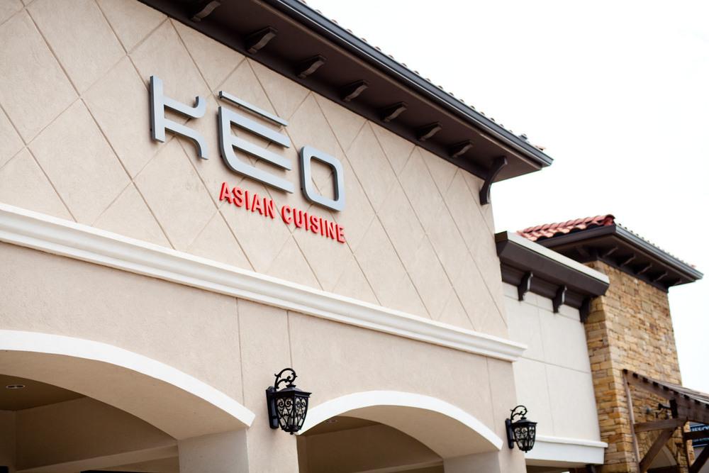 Keo Restaurant Menu Tulsa