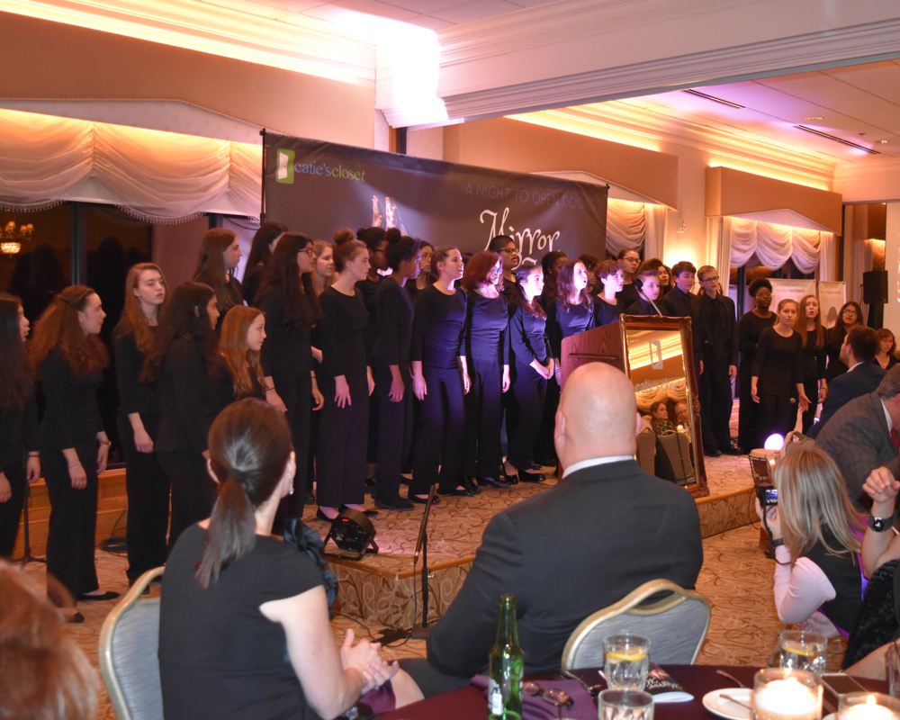 The children from the Boston Children's Chorus gave us a performance to remember.