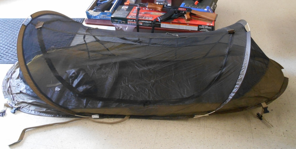 Additional Info & Inguana Pop-Up Mosquito Bed Net Tent u2014 All American Military Surplus