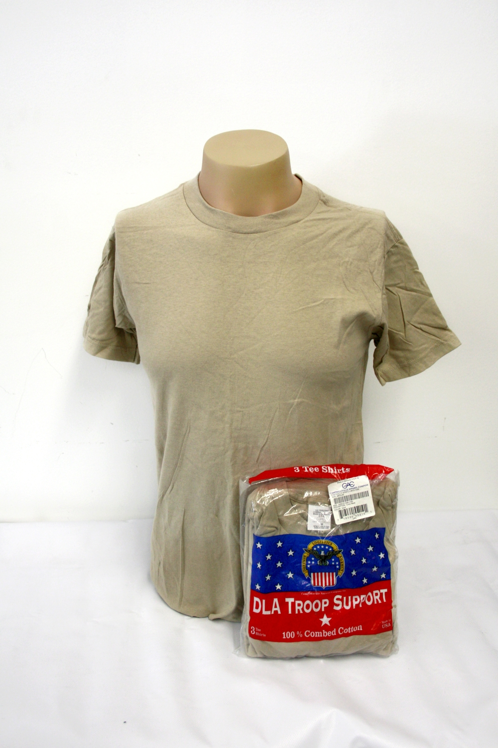 aa727e1f ARMY Issue Tan T-Shirt — All American Military Surplus