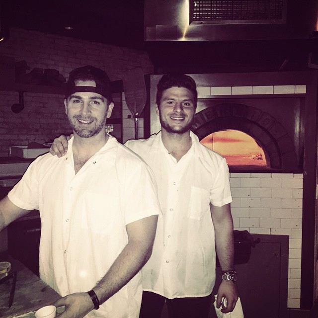 The #doppionyc team is here to serve you the best pizza in the #westvillage