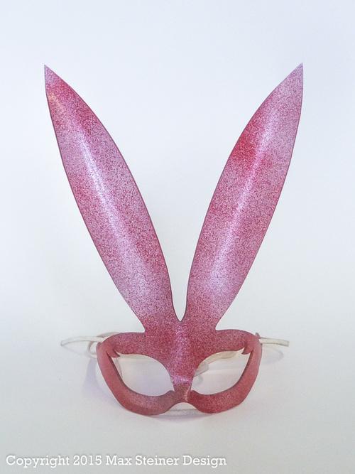Bunny Mask - Red/Glitter. MSD-8.jpg