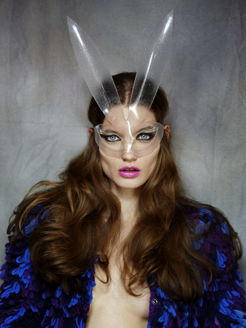 Bunny Mask - Glitter