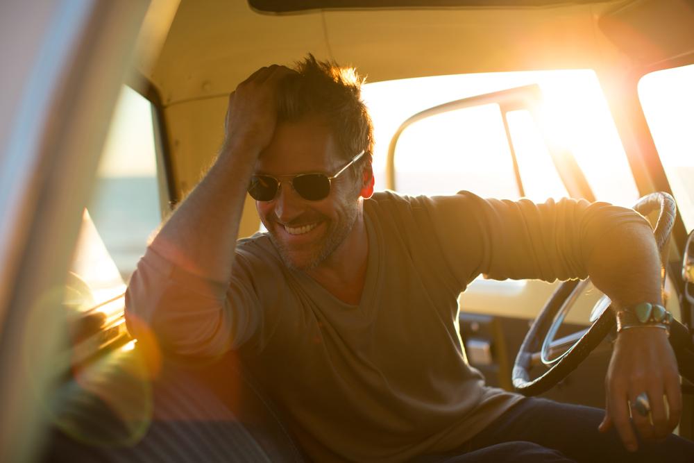 Paul green v-neck laughing in sunglasses.jpg