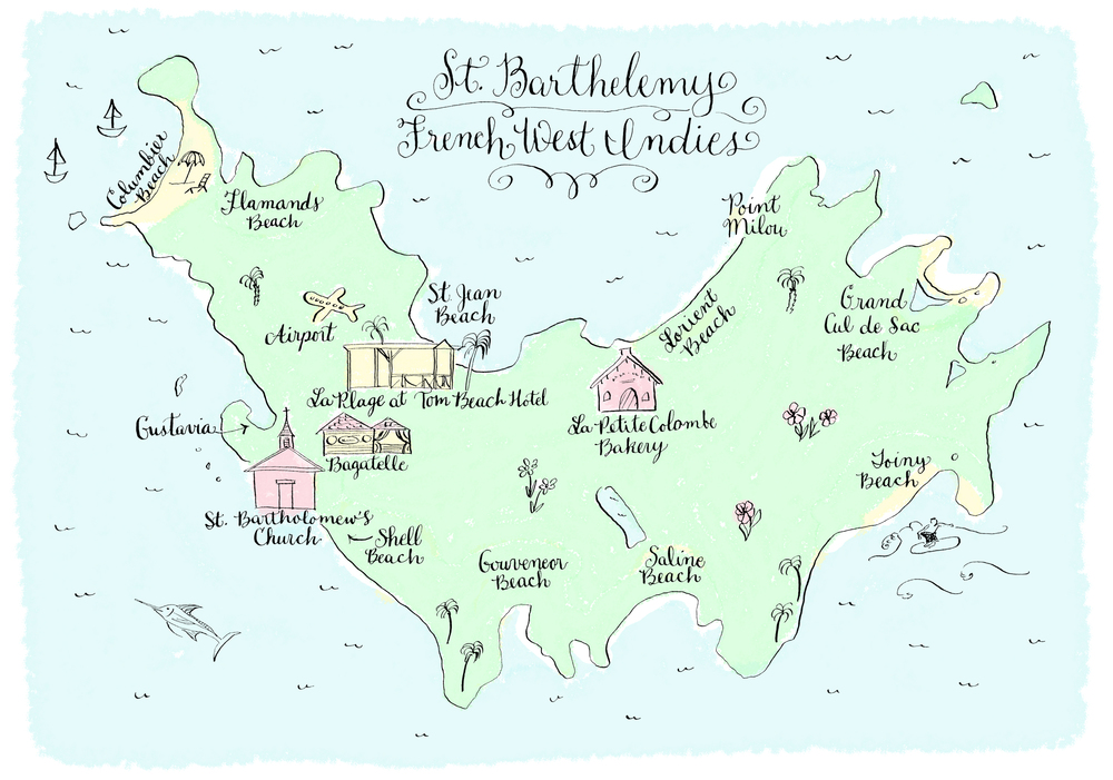st.-barths-illustrated-map