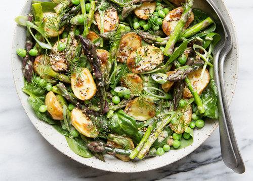 Blog sonja dahlgren matstylist matfotograf receptkreatr lukewarm spring salad with roasted potatoes asparagus and dijon dressing forumfinder Choice Image