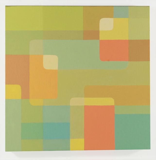 "ORANGE // Acrylic on Canvas / 10""x10"""