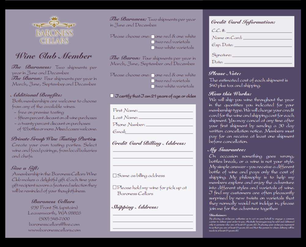 Club Member Form