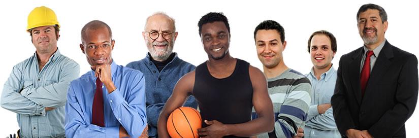 Image result for diverse men