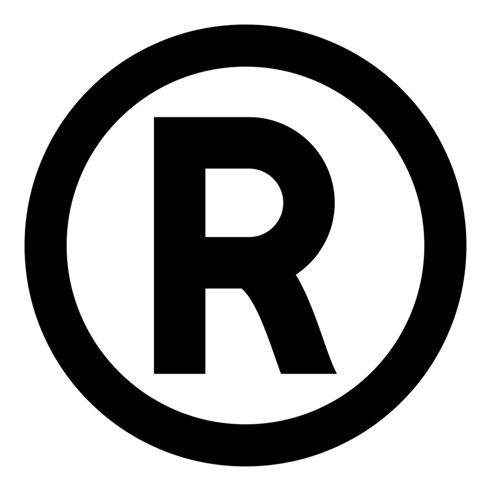 Symbol copyright icon black color illustration flat style simple image