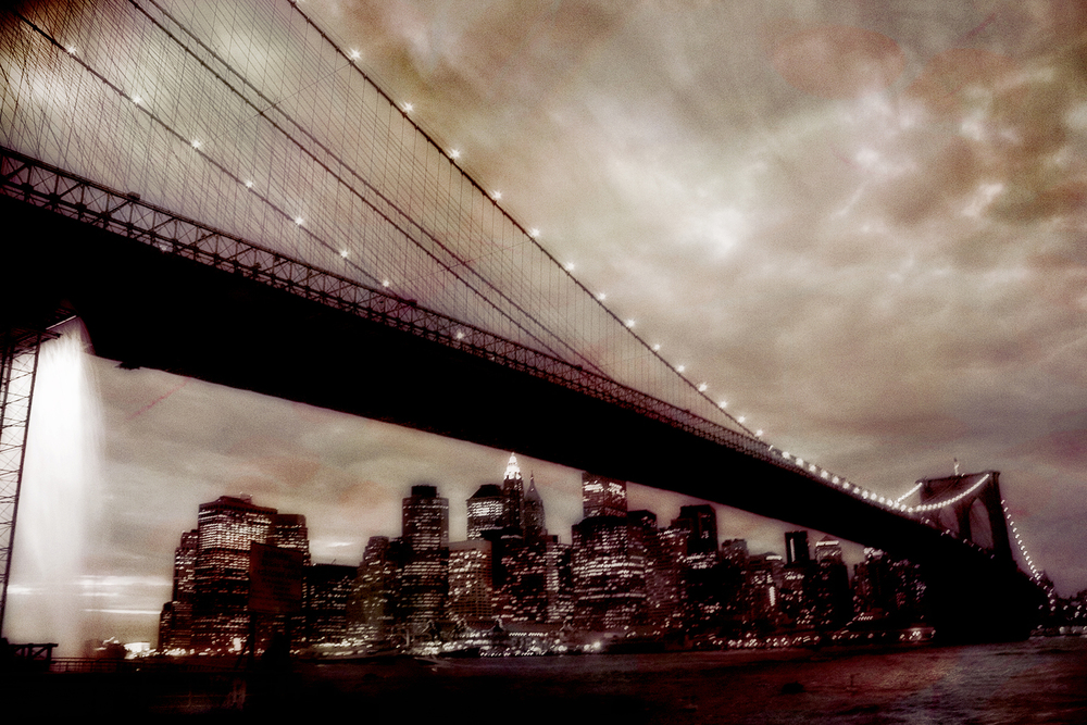 Brooklyn Bridge Waterfall, 2008 | 14x11 | $75