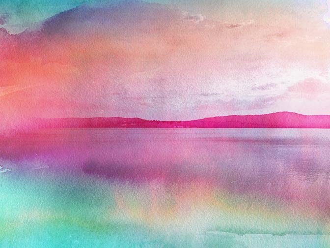 Adirondack Sunset, 2016 | 14x11 | $75
