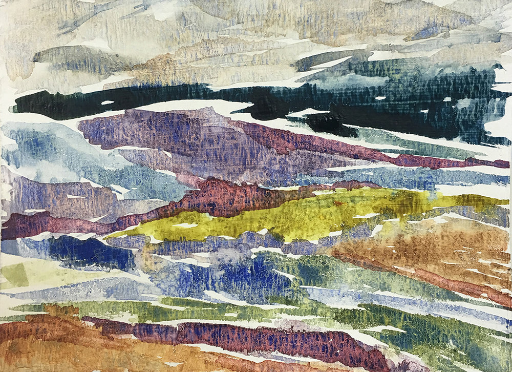Mountains, 2016 | 14x11 | $75