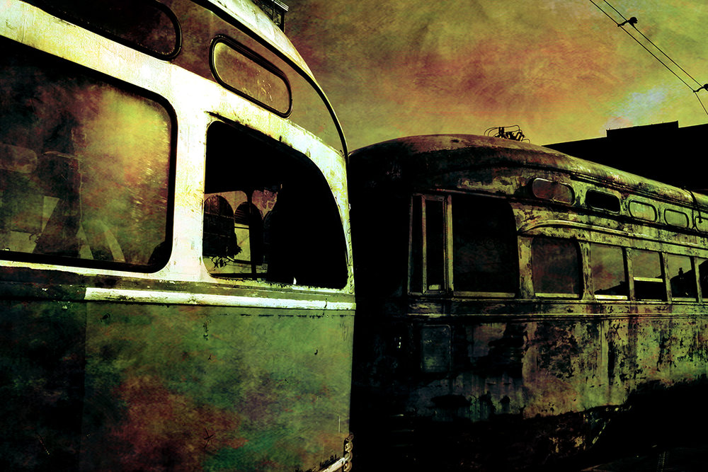 Red Hook Buses, 2008 | 14x11 | $75