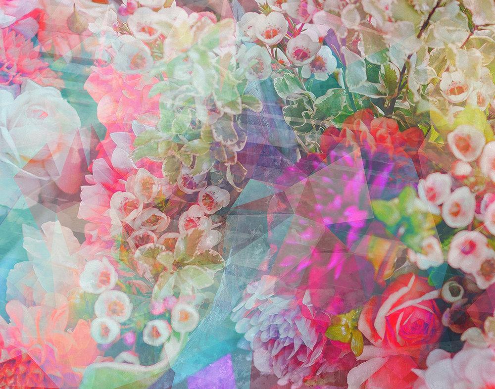 Neon Flowers, 2018 | 14x11 | $75