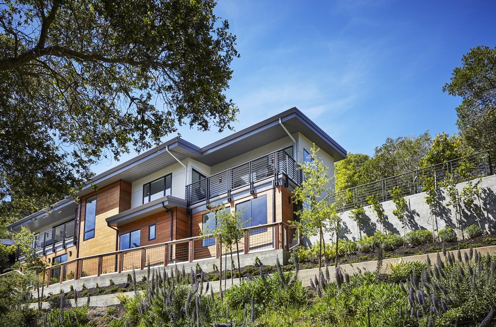 RECENTLY LISTED & SOLD  - 575 Summit Avenue, Mill Valley (Middle Ridge) - new construction; designed by esteemed local architect Kyle Thayer. 4bd/6ba, $5,250,000 . visit     575Summit.com