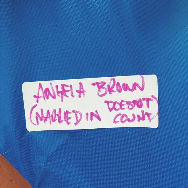 My super sentimental husband made me this sweet name tag for today's family reunion.