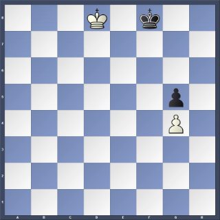 POSITION 3 - White to play: Black (with the opposition) draws