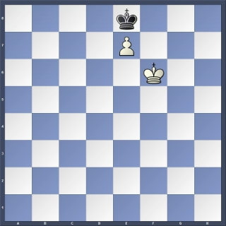 White to play —draw     Black to play —White wins