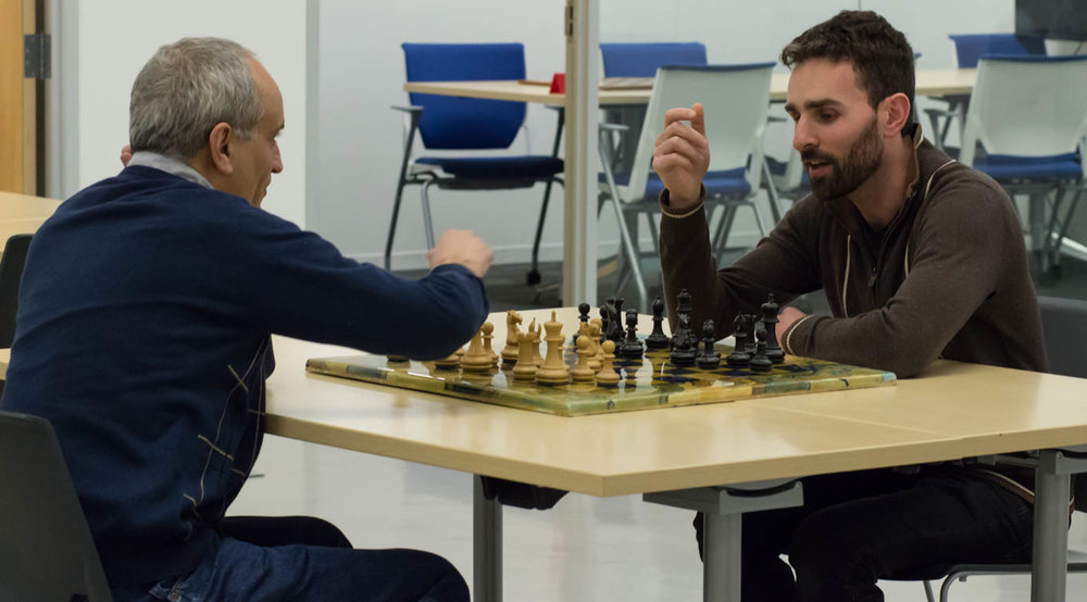 "GM Dmitry Gurevich told me that the chess players at Avant were surprisingly strong. ""Should I have given him a draw?"" he asked me. ""But there was no way in the world I was going to let him beat me!"""