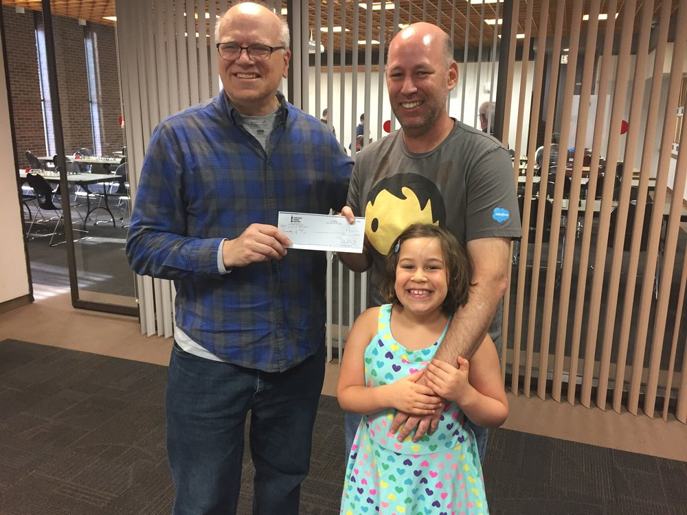Sometimes chess parents win money, too! (Photo credit: Tom Bareket)