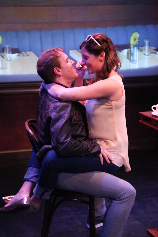 Christopher Selefski (L) & Courtney Jones in  The Next Thing