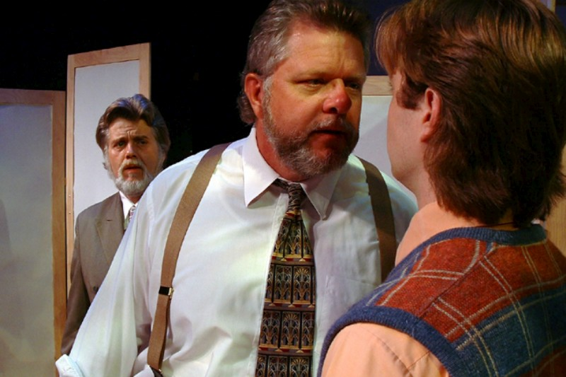Vincent L. Lonergan (L), David Ford Lykins (M) & Aaron Snook in  Much Ado About Nothing