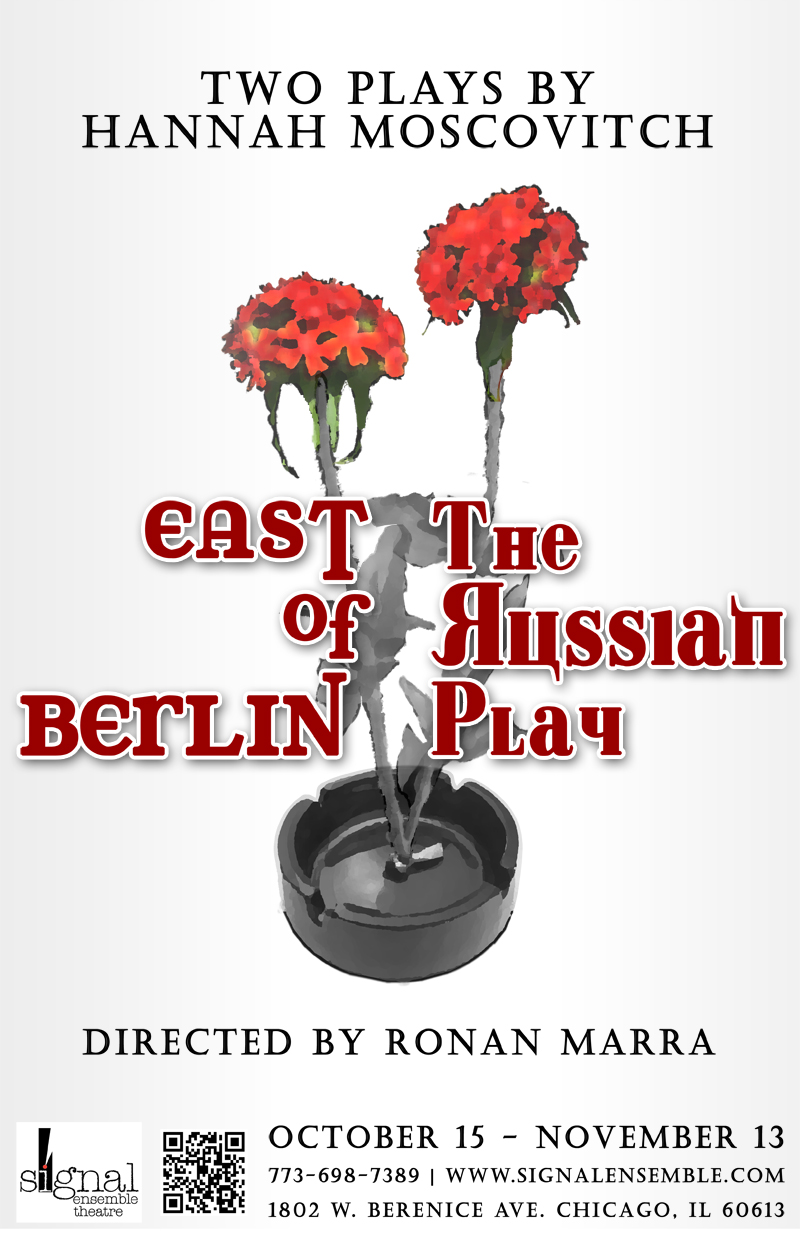 "Poster For ""East Of Berlin & The Russian Play"""