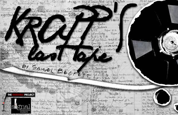 """Poster For """"Krapp's Last Tape"""""""
