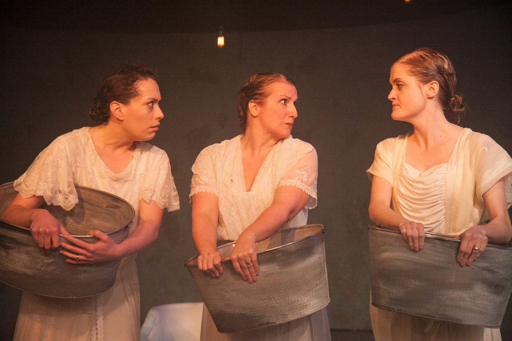From L to R: Katherine Schwartz, Anne Sheridan Smith & Meghan Reardon in  The Drowning Girls