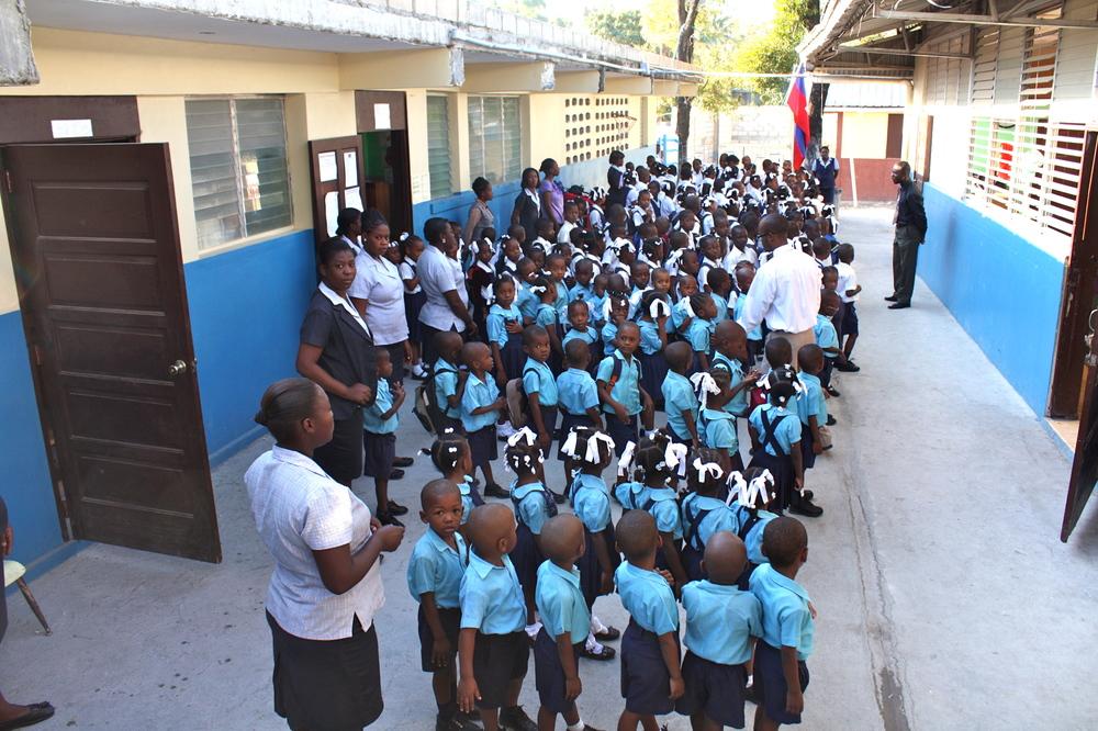 Emmanuel's classmates