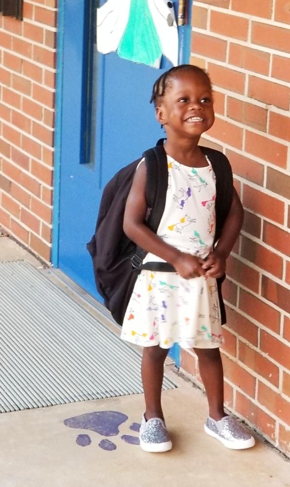 First day of preschool.