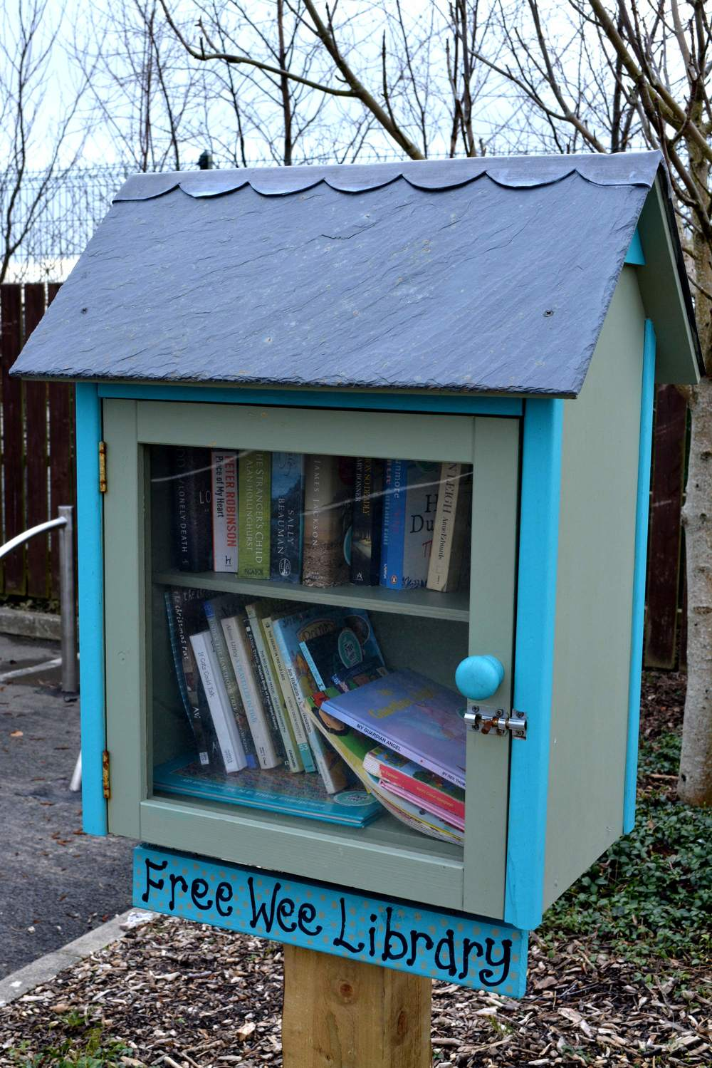 Free Wee Library @ Visit Inishowen Tourist Office, Buncrana, Co Donegal
