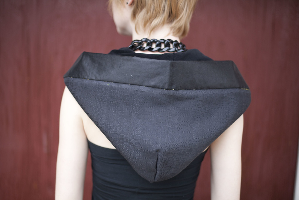 small hood  model Deanna Tipton  Photographer Ruslan Tumash