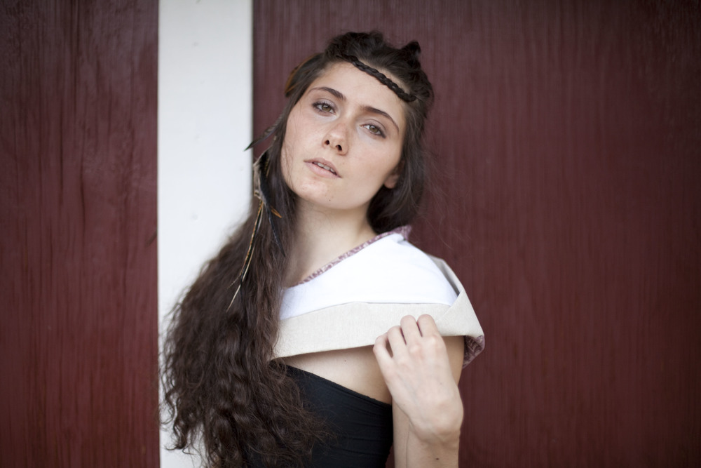 small hood  model Na'ama Ella Asido  Photographer Ruslan Tumash