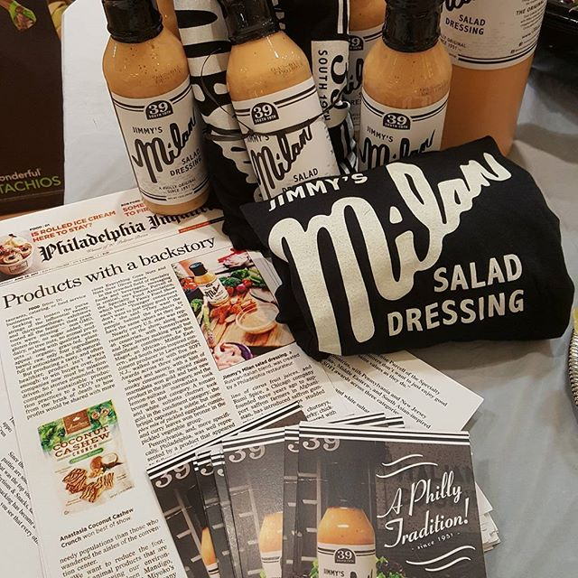 Weis Market Norristown Demo today Jimmy's Milan Salad Dressing  Eagles vs. Chiefs today