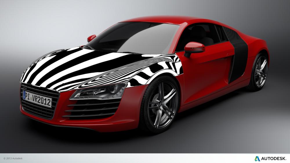 Zebra Stripes Example