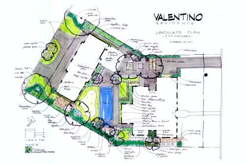Residential Landscape Architecture Plan pittman landscape architecturepittman landscape architecture