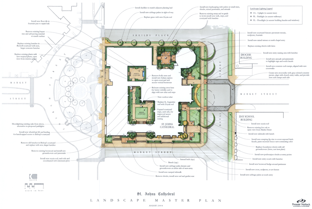 St. Johns Cathedral Master Plan