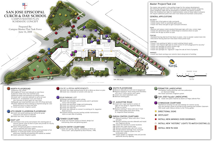 San Jose Episcopal Church Master Plan
