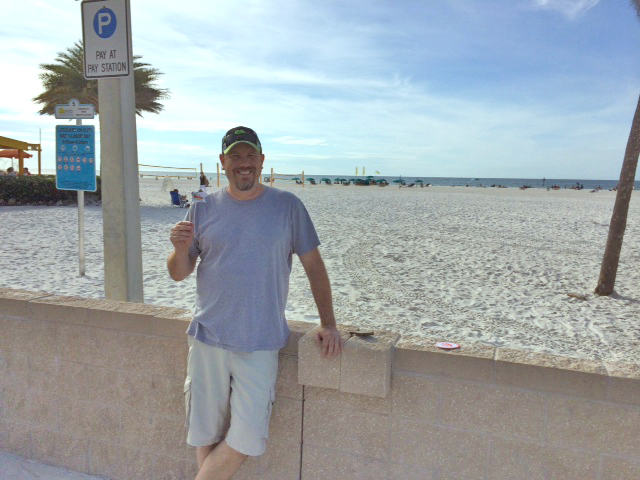 Kerry at Clearwater Beach, FL