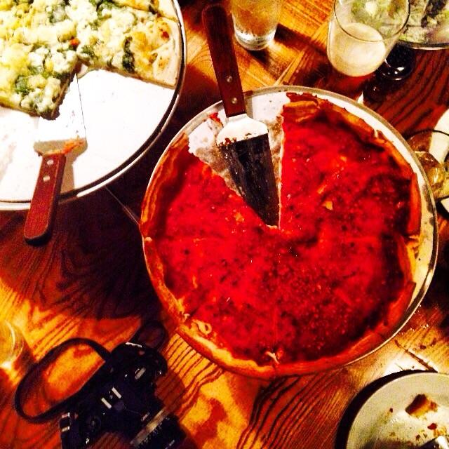Deep dish deep dish!